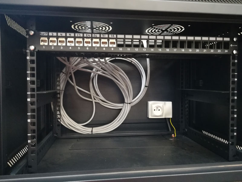 Mise en place réseau informatique