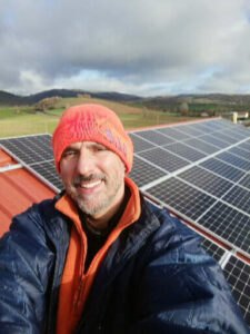 Installation de panneaux photovoltaïques dans le tarn