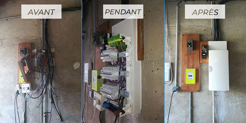 Rénovation compteur électrique