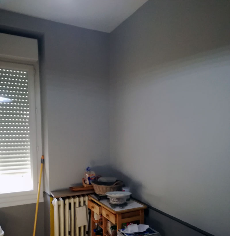 peinture murs de cuisine