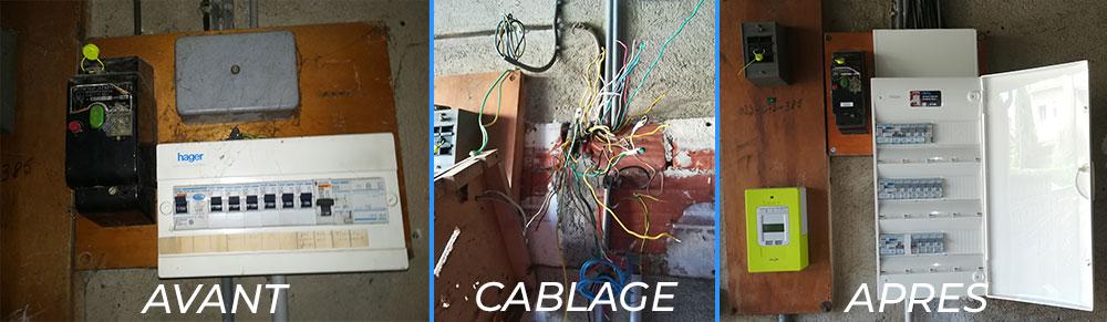 remplacement compteur électrique